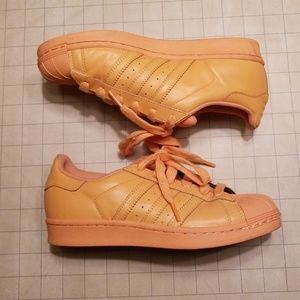 RARE! Pharell Supercolor Superstar Bliss Coral